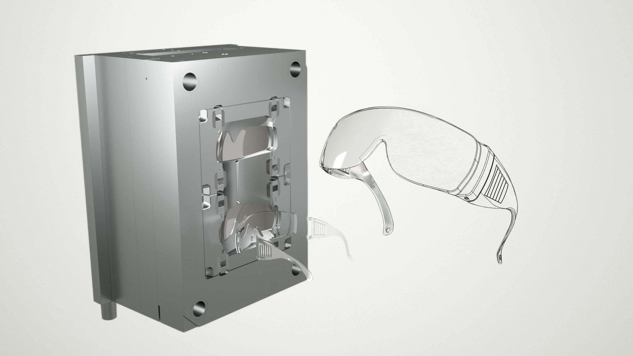 Desarrollo, diseño y fabricación de producto y moldes de inyección de plástico
